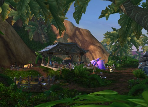 Outpost in Gorgrond