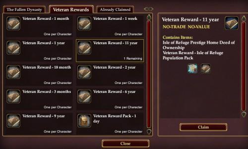 The 11 Year Reward