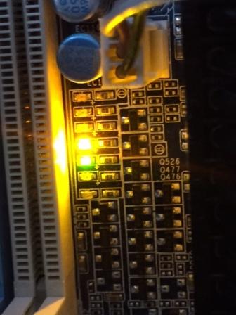 Motherboard lights...