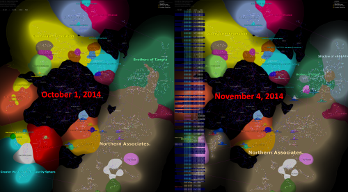 Oct. 1 vs. Nov. 4 map