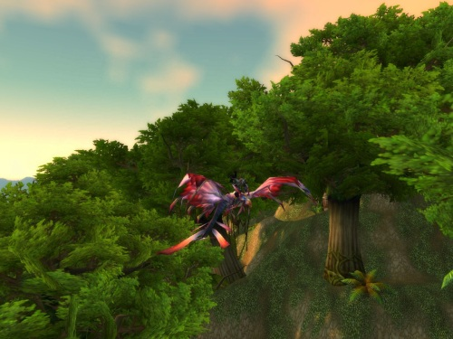 Vikund on a blood elf mount