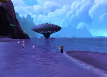 On the Shadowmoon Valley shore