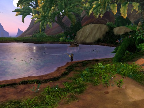 Fishing in Gorgrond