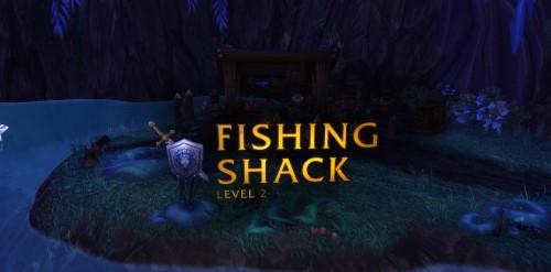 Hey, upgraded fishing shack