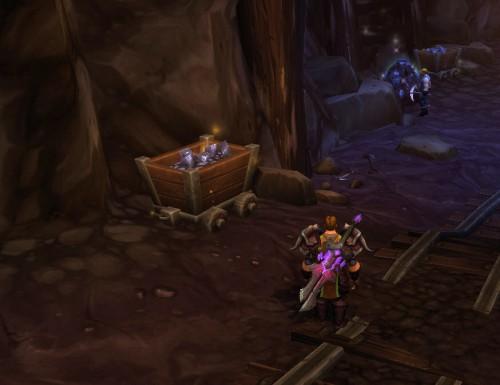 Mining cart fun