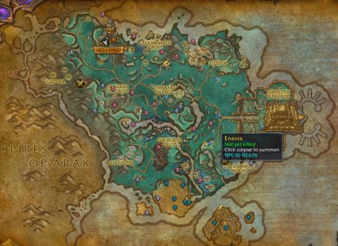 MyRareFinder map