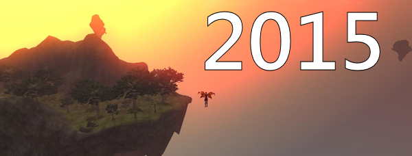 A graphic with the number 2015 on it!