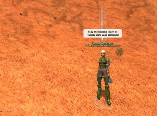 Desert healing
