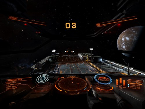 I think that is a landing pad for docking...