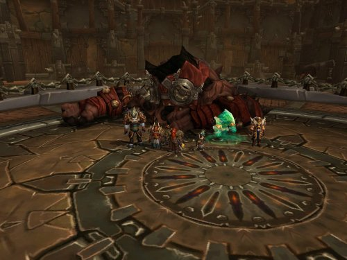 The instance group in the Iron Docks
