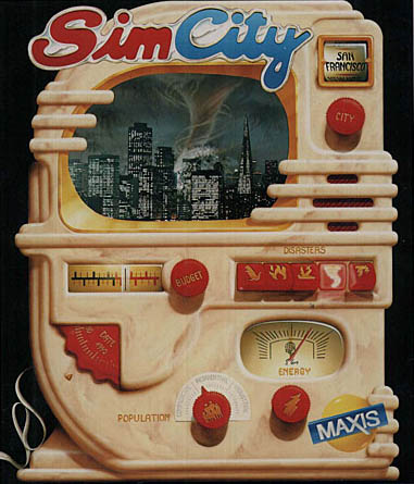SimCity back in the day