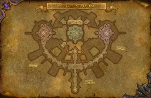 Auchindoun map