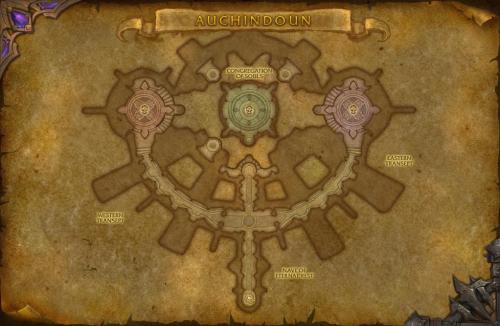 Auchindoun map