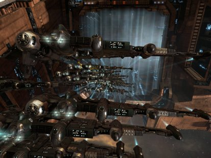 Catalysts undocking in Amarr