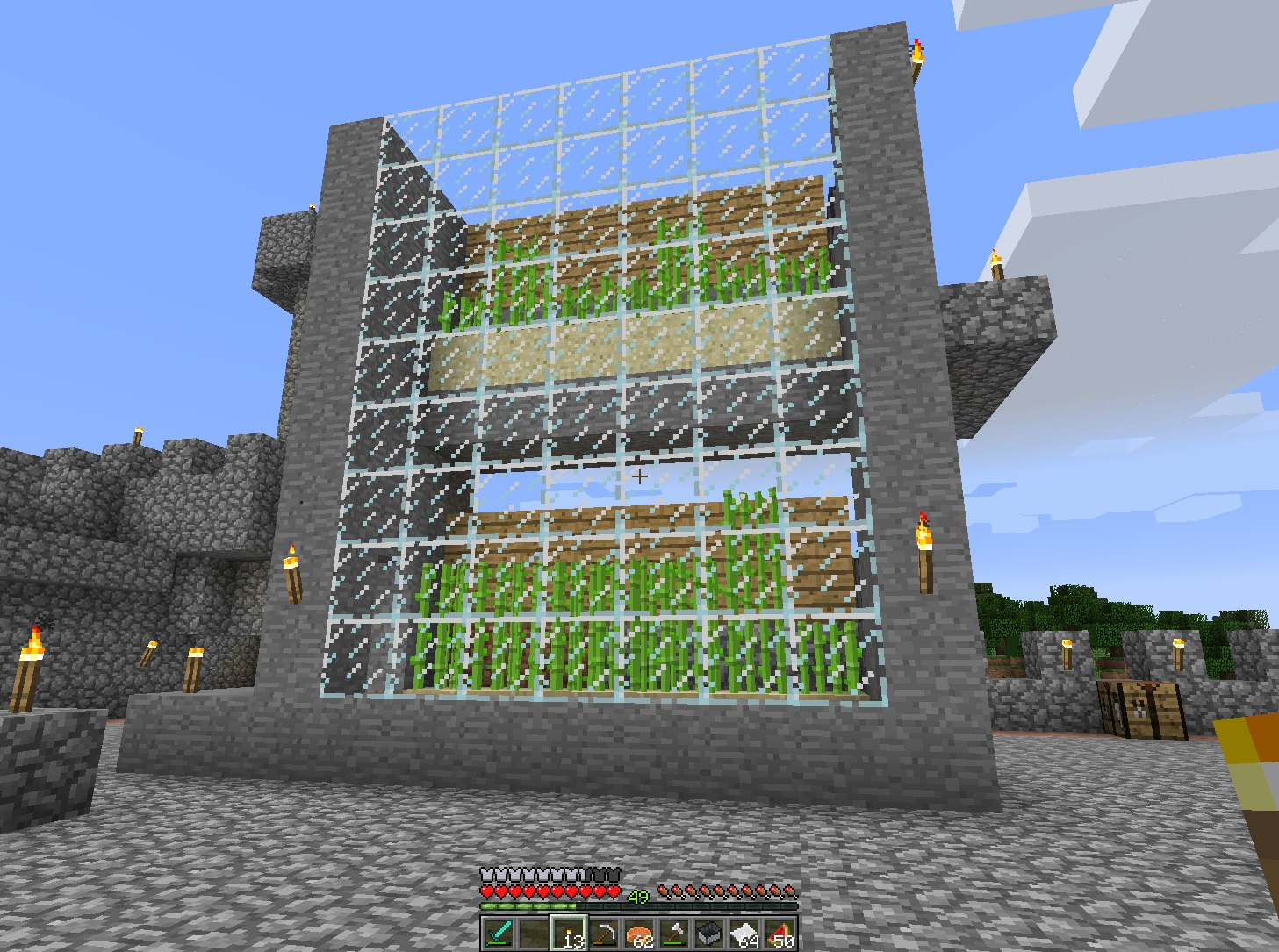 Aesthetic lighting minecraft indoors torches tutorial Minecraft Redstone Automated Sugar Cane Farm Minecraft Wonderhowto Minecraft And Bringing Light To Dark Places The Ancient Gaming Noob