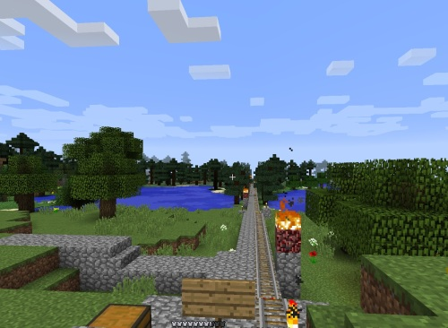 Railroad south