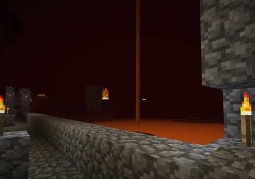 Because I can hear that ghast from inside...