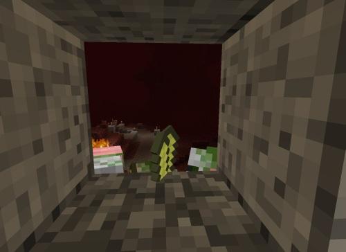 Zombie Pigmen outside