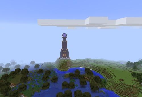 A dark-ish tower