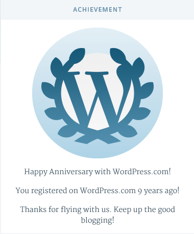 WP9YearAchievement