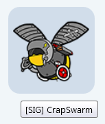 CrapSwarm Forum Bee