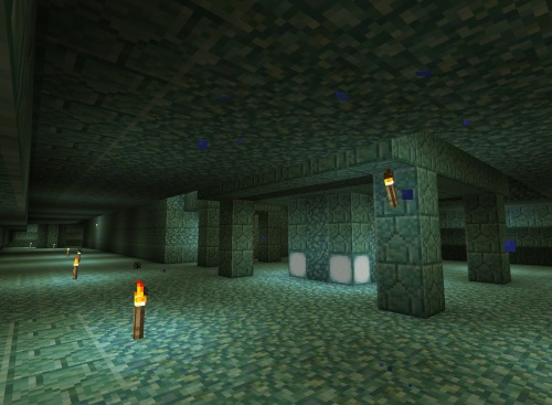 Inside the Ocean Monument
