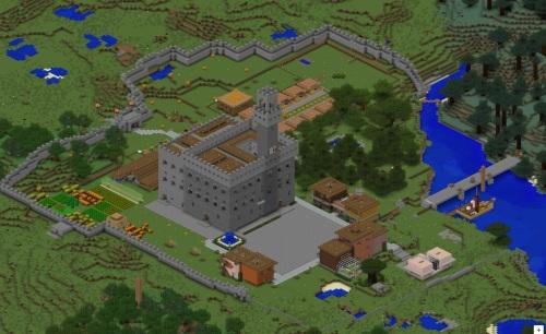 Firenze in Minecraft