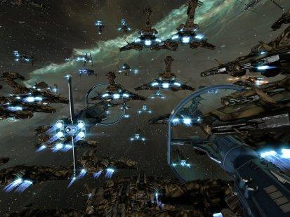 Maze Fleet in warp