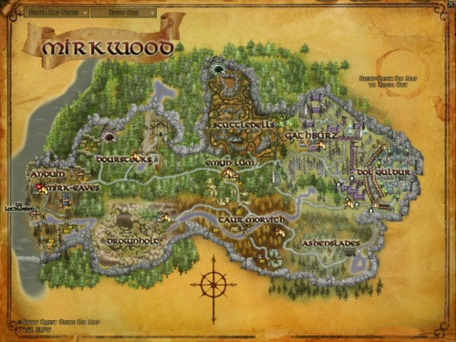 Map of Mirkwood
