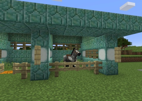 Prismarine stable