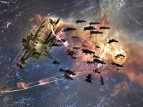 Ferox fleet hanging on a bubbled gate