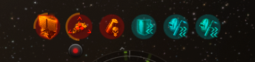 New effects bar; red is bad, blue is good
