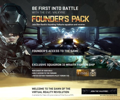 Founders Pack with the pre-order...