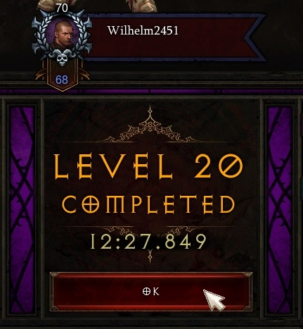 Greater Rift 20 completed