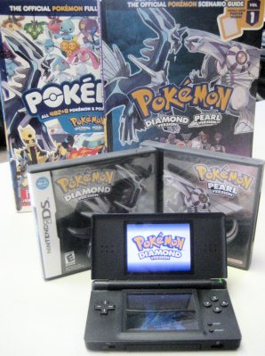 Pokemon Diamond and the DS Lite