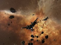 Ravens aligning out of an asteroid belt