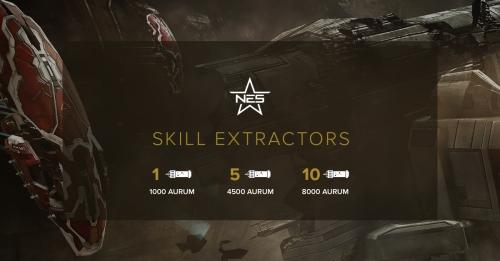 Skill Extractors - Base Price