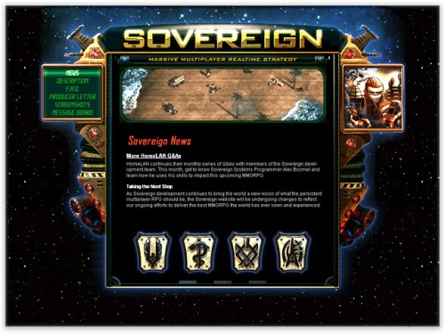 Sovereign on display