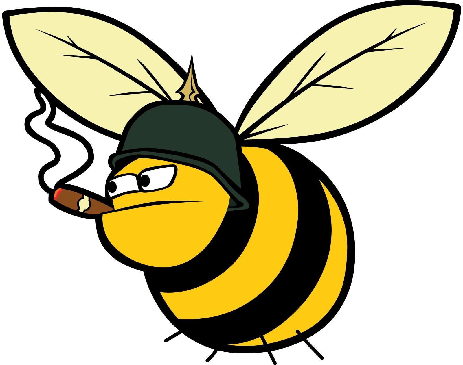Прикольные рисунки пчел, биологии