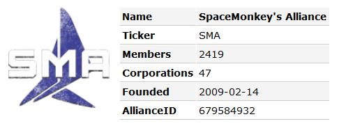 SpaceMonkey's Alliance - April 10, 2016