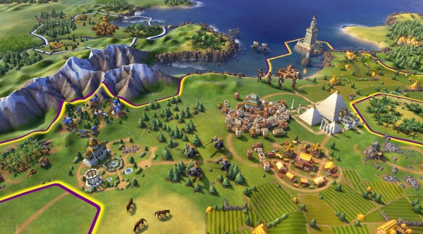 A first glimpse of Civ VI