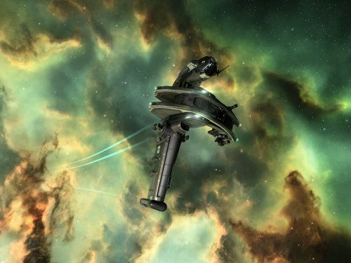 Gallente rookie ship zipping about...
