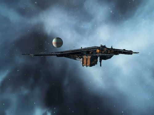 The Fortizar looms