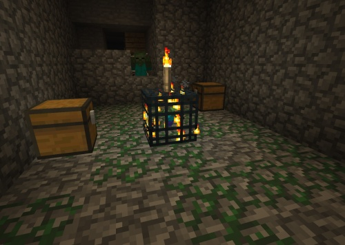 Put a torch on it to keep it from spawning