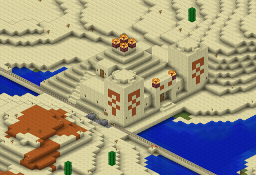 Desert temple becomes base