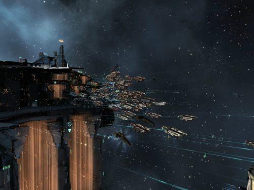 Abaddons leaving the citadel