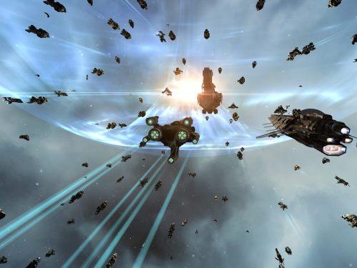 Approaching the titan