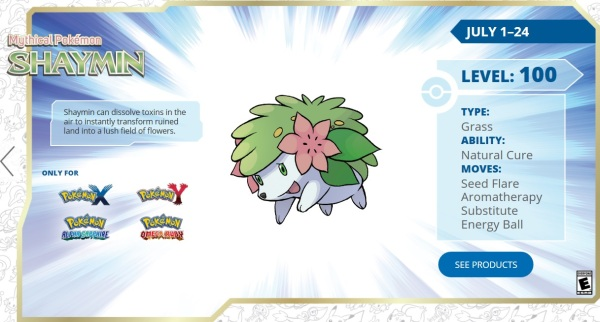 pokemon pearl how to get shaymin