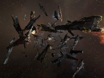 Supers orbiting a gate at 10km