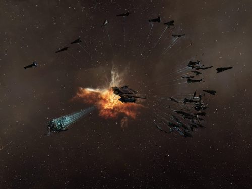 Supers in a semi-circle around the Fortizar